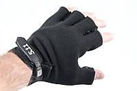 Тактические перчатки беспалые 5.11 Черные , фото 1