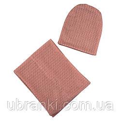 Комплект (шапка,шарф)