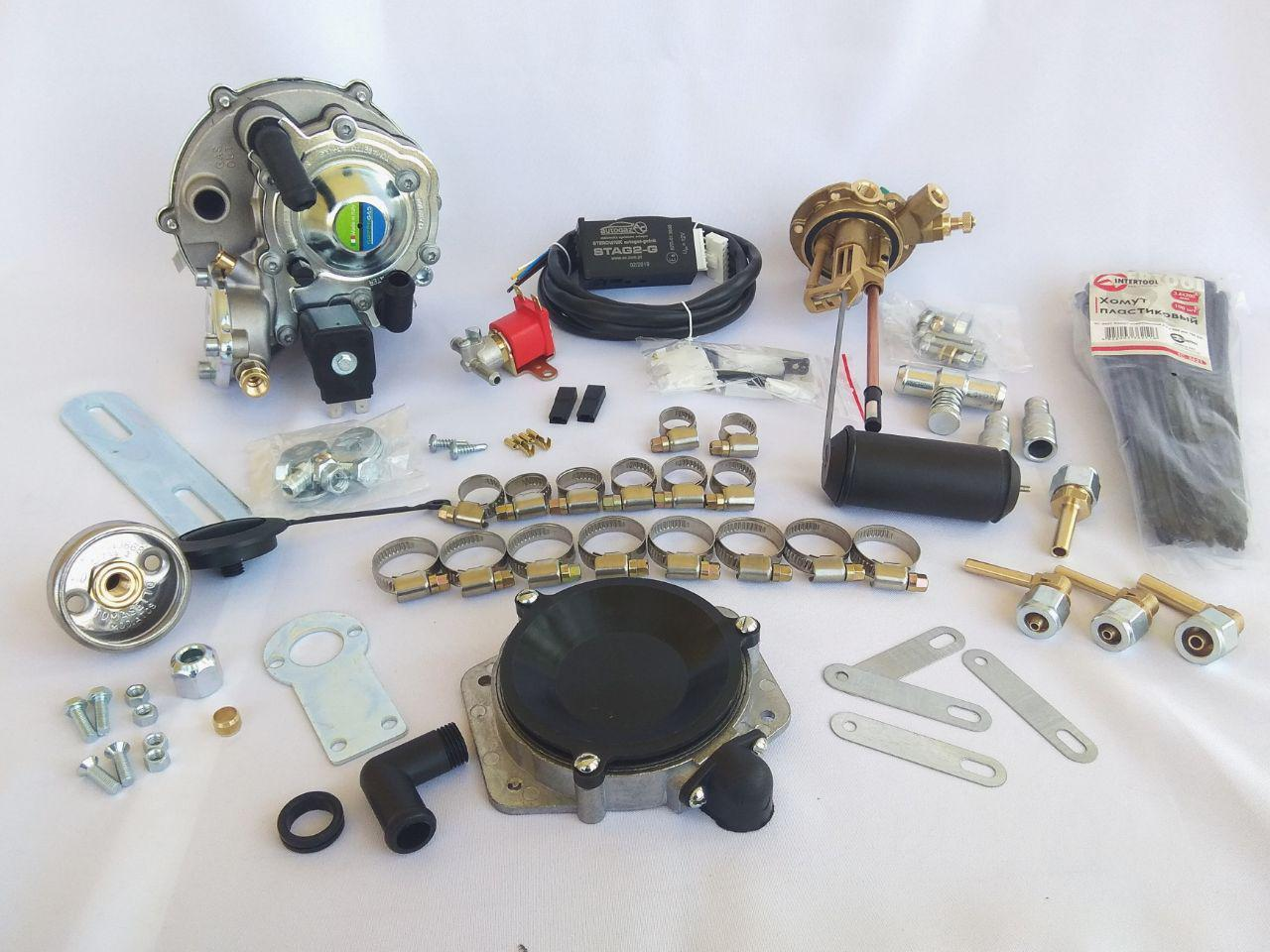 Комплект ГБО 2.Tomasetto на Solex(Баллон 50л)