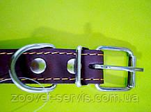 Ошейник кожаный безразмерный О 2,5 ТМ ЛОРИ, фото 2