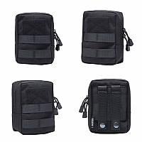 Органайзер edc сумка тактическая поясная (на рюкзак) с системой Molle подсумок для документов