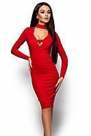 (S / 42-44) Неповторне червоне вечірнє плаття Monro