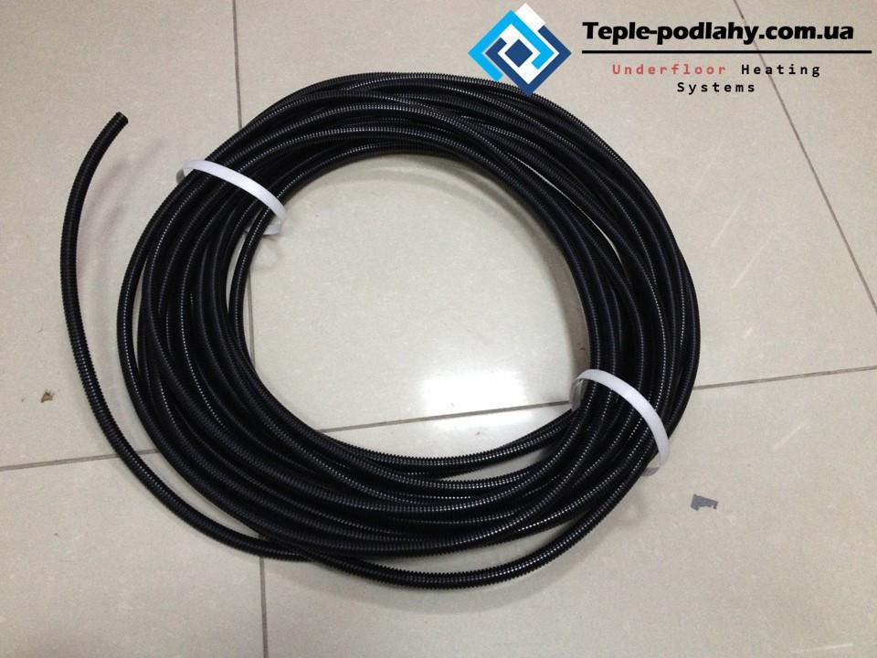 Гофра-трубка призначена для монтажу датчика температури підлоги