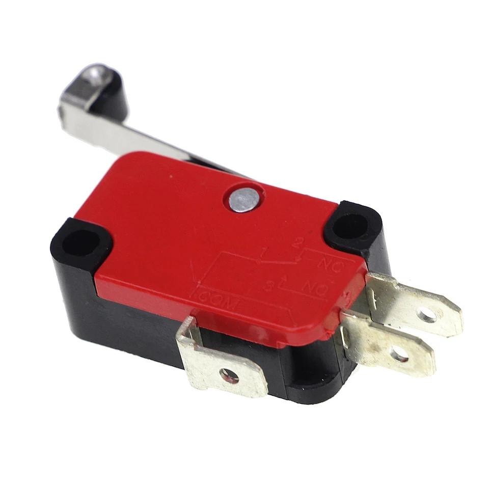 Концевой выключатель с роликом (концевик, микровыключатель) 15А 250В
