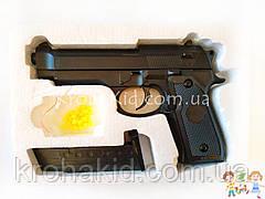 Игрушечный пистолет на пульках металлический детский CYMA ZM18 / ЗМ 18 (точная копия Beretta M92 Airsoft Gun)