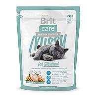Сухой корм для стерилизованных кошек Brit Care Cat Missy for Sterilised 400 г (курица)