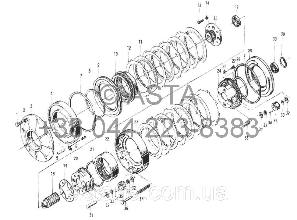 ТРАНСМИССИЯ III -Z50E03T42