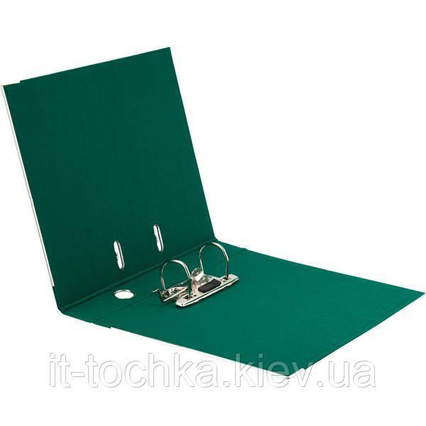 Папка-регистратор axent 1721-04c-a зеленая prestige+ А4 ширина 5 см