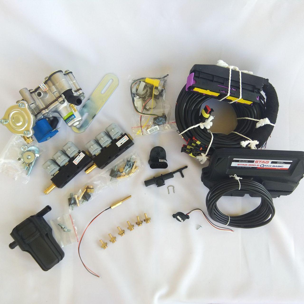 Комплект ГБО 4 для 6-ти цилиндр STAG-300-6 Q Max Basic