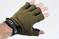 Тактические перчатки беспалые 5.11 Олива , фото 1