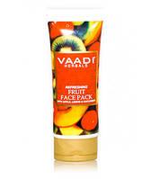 Маска освежающая для лица яблоко, лимон и огурец, 120г, Vaadi Herbals Pvt. Ltd.