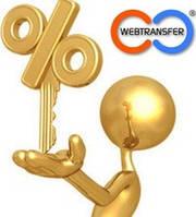 Заработай в Webtransfer
