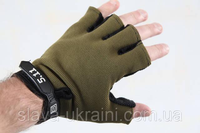 Тактические перчатки 5.11 Беспалые