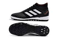 Футбольные сороконожки (многошиповки) adidas Predator Tango 18.3 TF Core Black/White/Solar Red, фото 1