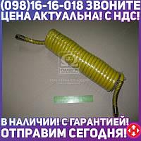 ⭐⭐⭐⭐⭐ Шланг витой пневматический спиральный (комплект 2 шт красн., желтый ) М 18х1,5 L=7м 5410-3500000