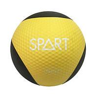 Медицинский мяч Spart CD8037-6 кг желтый