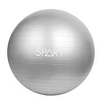 Фитбол Rising Anti Burst Gym Ball 75 см серебристый