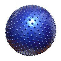 Фитбол массажный Rising  GB5055-65 см синий