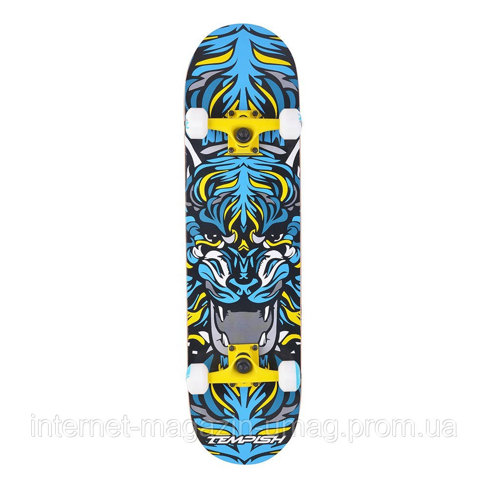Скейтборд Tempish TIGER 106000042 желтый