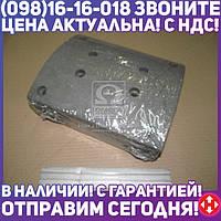 ⭐⭐⭐⭐⭐ Накладка тормоза МАЗ 5440 задняя сверленая (220 мм ) (Дорожная Карта)  5440-3502105
