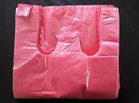 Пакет - майка с ручками до 10 кг. 100 штук.