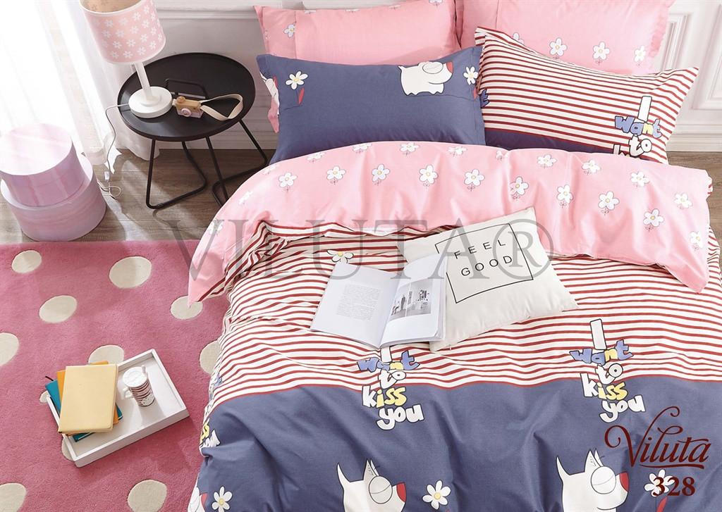 Подростковый комплект постельного белья сатин-твил 328