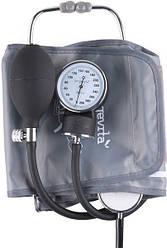 Механический измеритель давления Longevita LS-5 (стетоскоп в комплекте встроенный в манжете)