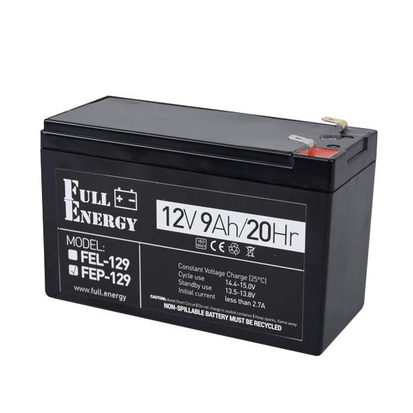 Аккумулятор Full Energy FEP-129 12V 9AH