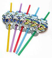 Трубочки для сока Робокар Поли