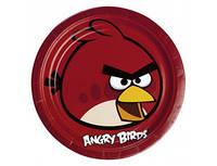 Тарелки(посуда) Злые птички Angry Birds