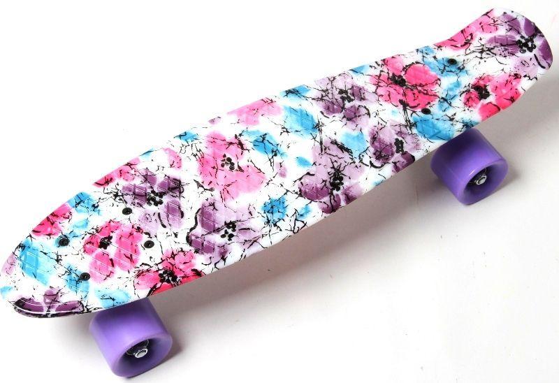 "Penny Board "" Flowers chamomile"""