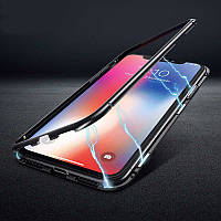Магнитный чехол для iPhone XR бампер накладка Case Magnetic Frame черный