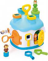 Сортер игрушка Домик Cotoons Smoby 211404