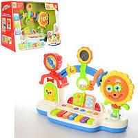 Музыкальная развивающая игрушка для малышей ,Пианино погремушка BB357