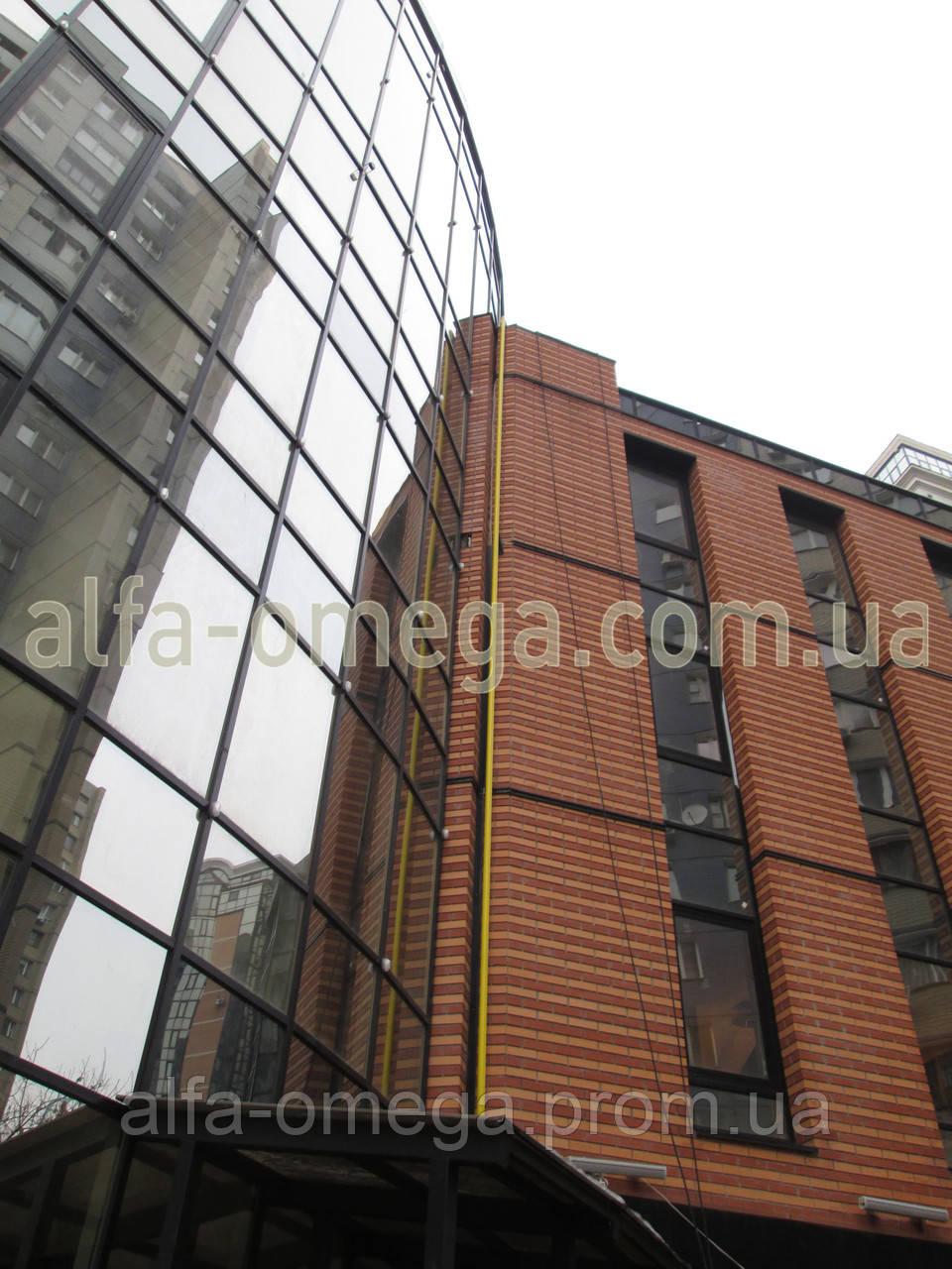 Заземление офисного центра - ООО «ГК«Альфа и Омега» - Системы молниезащиты, заземления и кабельного обогрева в Киеве