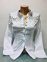 Рубашка женская Бренд Lux копия белая, фото 1
