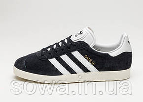 "✔️ Кроссовки Adidas Gazelle ""Black/White"" , фото 3"
