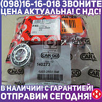 ⭐⭐⭐⭐⭐ Подшипник 6003-2RS1 (пр-во CARGO) 140273