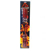 Шампура 6шт 45см с деревянной ручкой  0720