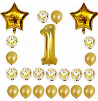 Набор шаров на день рождения 101