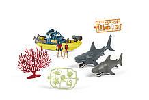 Комплект для изучения акулы Kid Connection Shark Exploration Playset