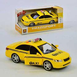 Машинка фрикційна Wenyi WY 560C Таксі Світло і звук