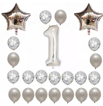 Набор шаров на день рождения 102