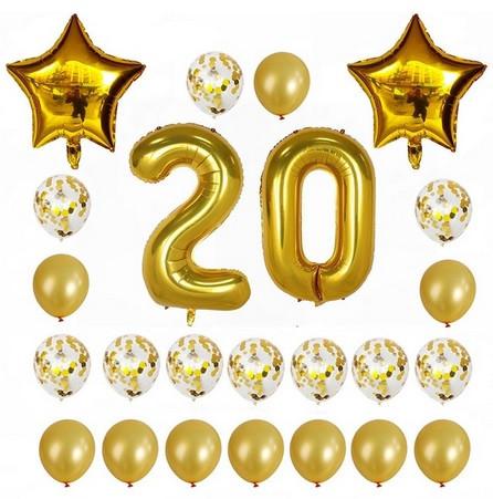 Набор шаров на день рождения 104
