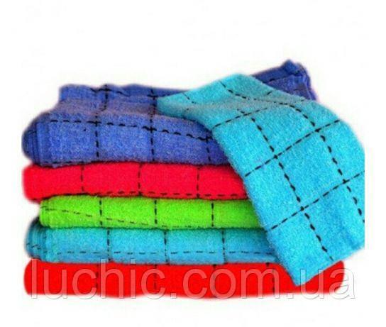Кухонные полотенце клетка хлопок 50 шт в уп. Размер 25х45 оптом большой опт самая дешевая цена
