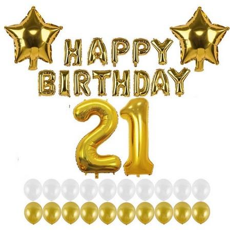 """Набор шаров на день рождения, """"HAPPY BIRTHDAY"""" 13"""