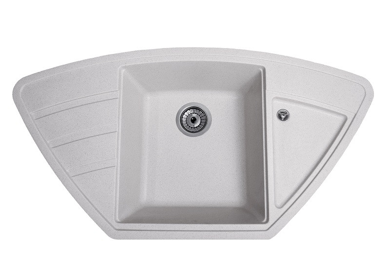 Плита гранітна мийка Solid Крафт сірий 98x51