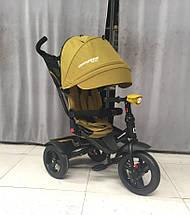 Детский трехколесный велосипед Crosser T-400 NEO Eco Air, фото 3