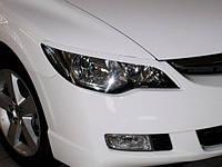 Реснички на фары Хонда Цивик седан из АБС