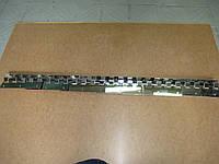 Крепление для  Штор  ПВХ  нержавейка   EU - 200   c крючками  (1 м карниз ,6 планок 200 мм ,винты)